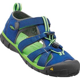 Keen Seacamp II CNX Sandals Ungdom true blue/jasmine green